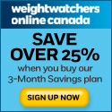 weight watchers online canada promotion code